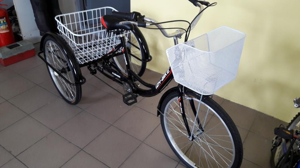 Как собрать взрослый трехколесный велосипед